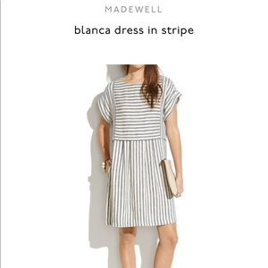 Madewell striped Blanca dress